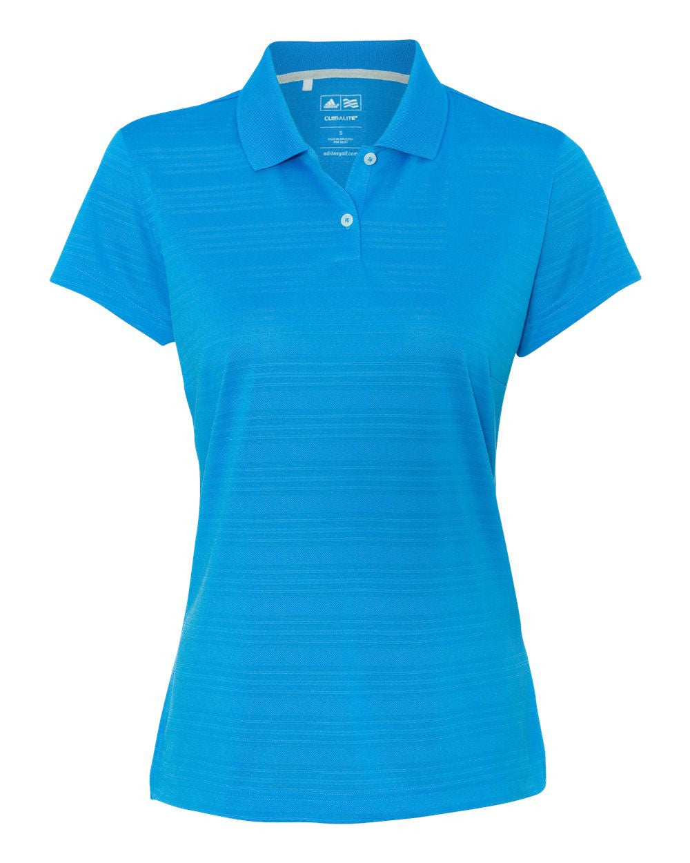 Womens Textured Polos by Adidas