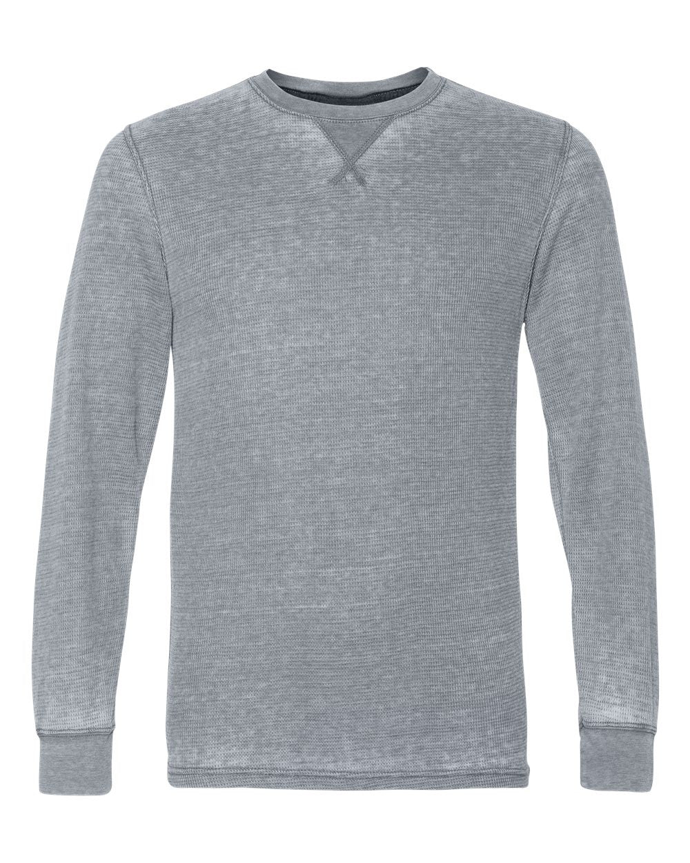 Thermal Long Sleeve T-Shirt by J america
