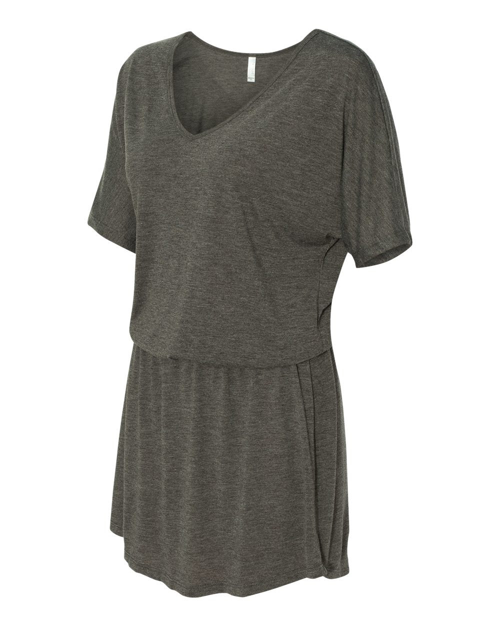 V neck Dress by Bella + Canvas - Discountedrack.com