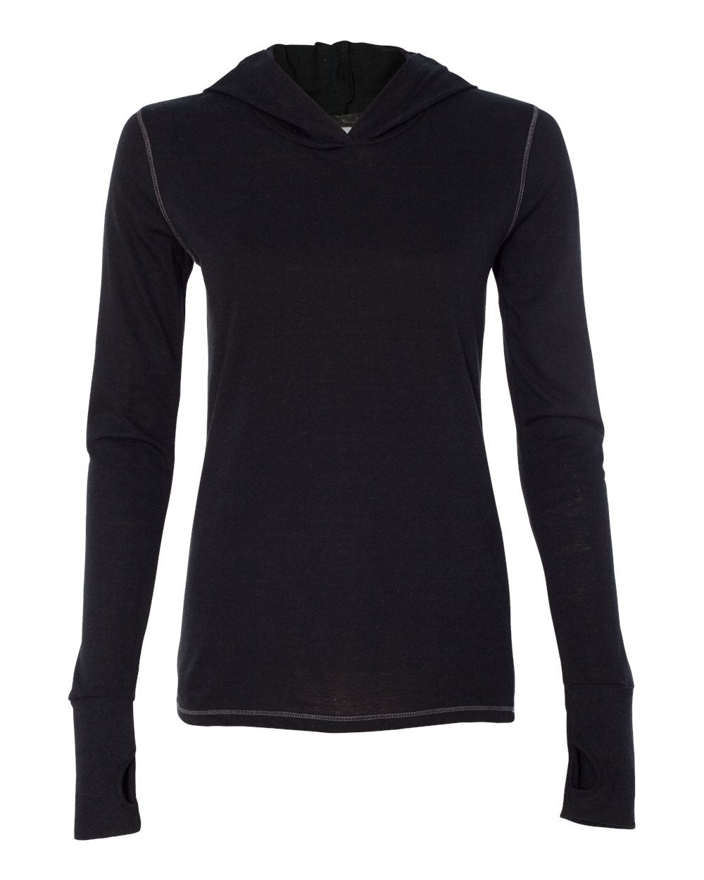 Long Sleeve Hooded Pullover by All Sport