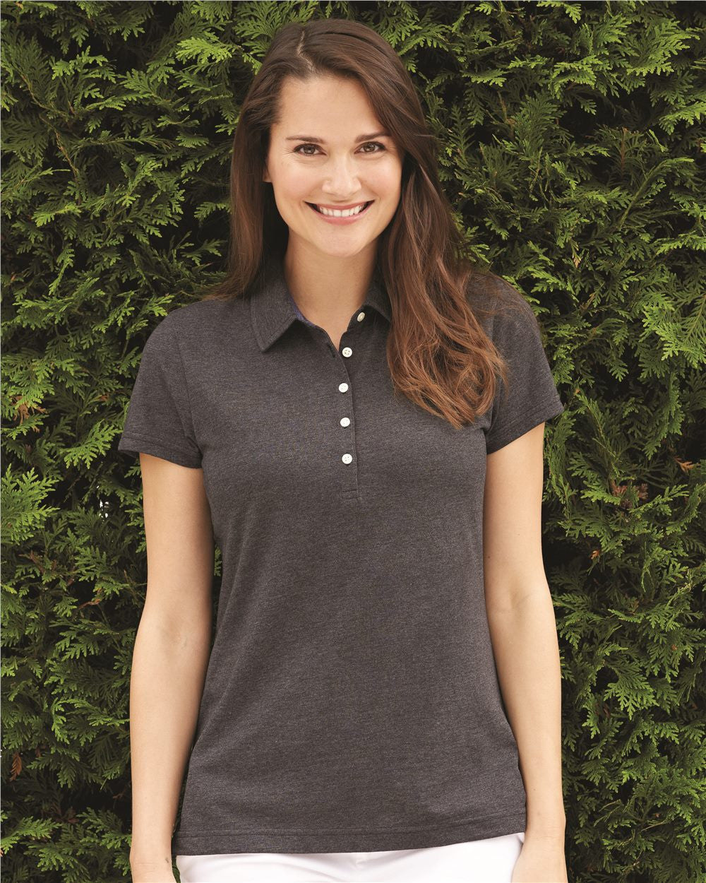 Jersey Polos for Women by IZOD - Discountedrack.com
