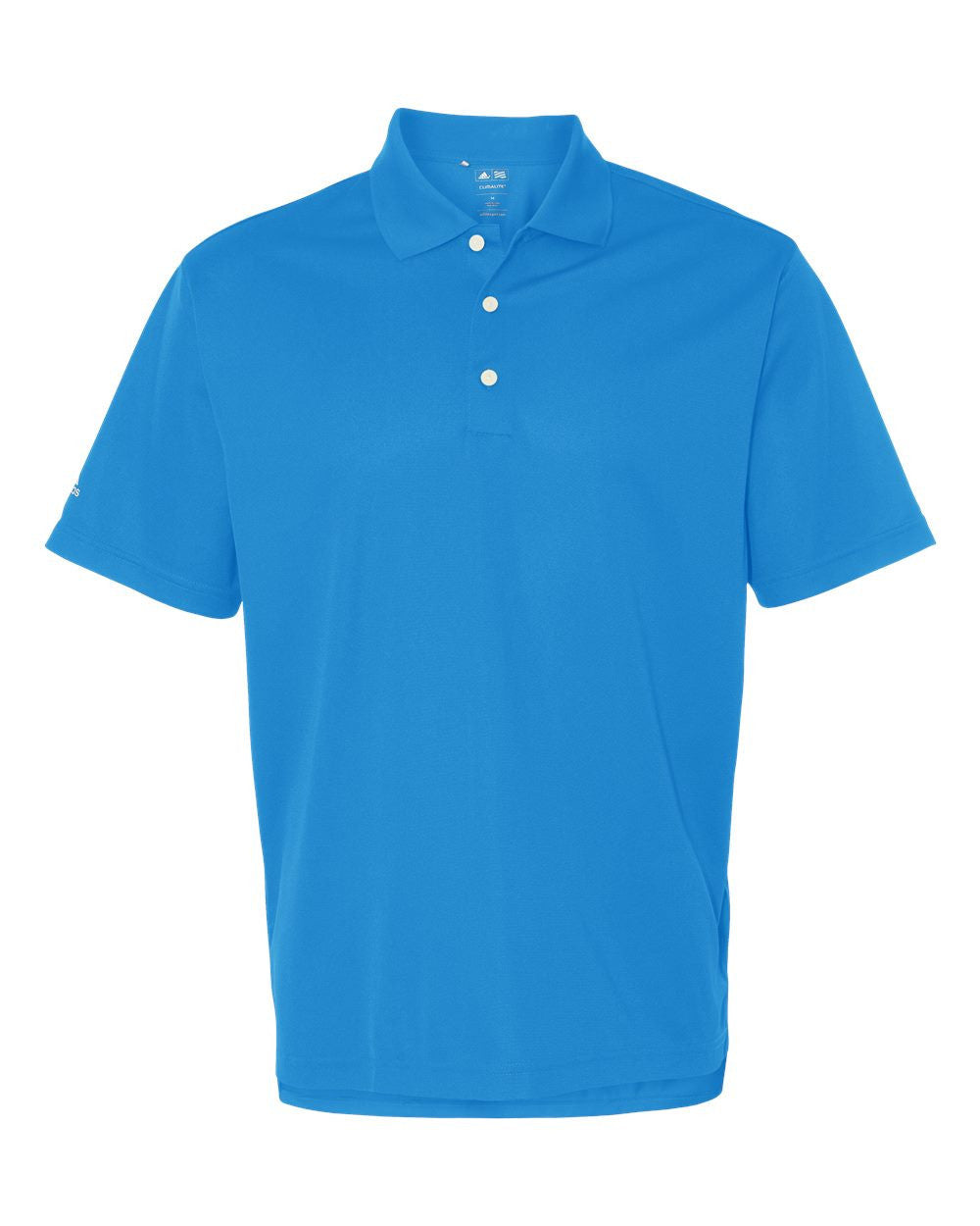 Performance Pique polo By Adidas - Discountedrack.com