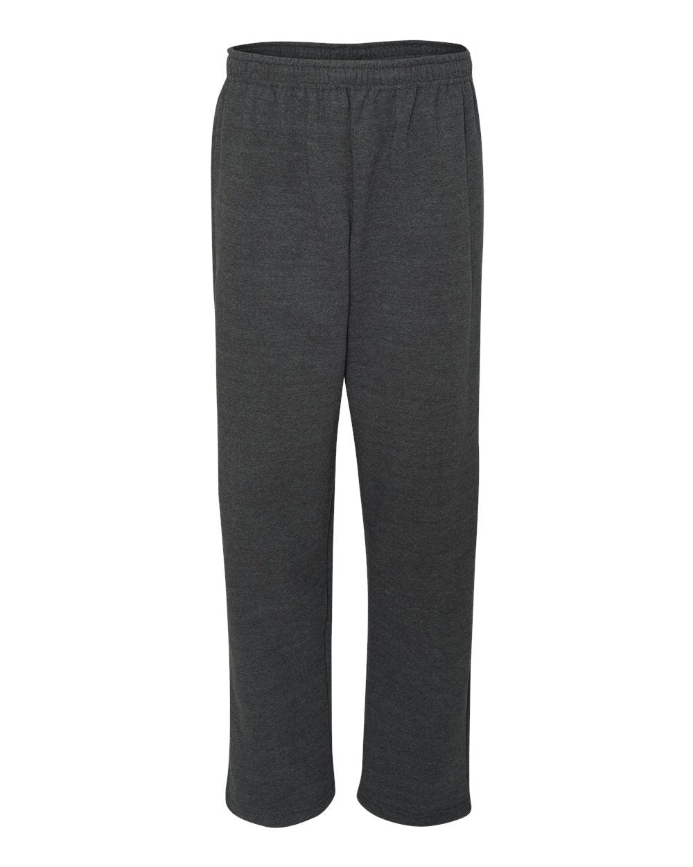 Heavy Sweatpants with open bottom by Gildan