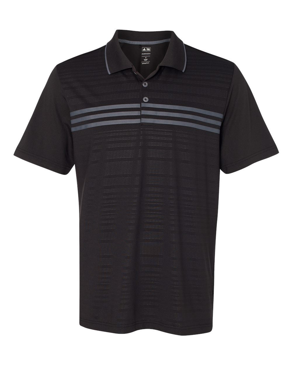 Golf Performance Chest Stripe Polos by Adidas