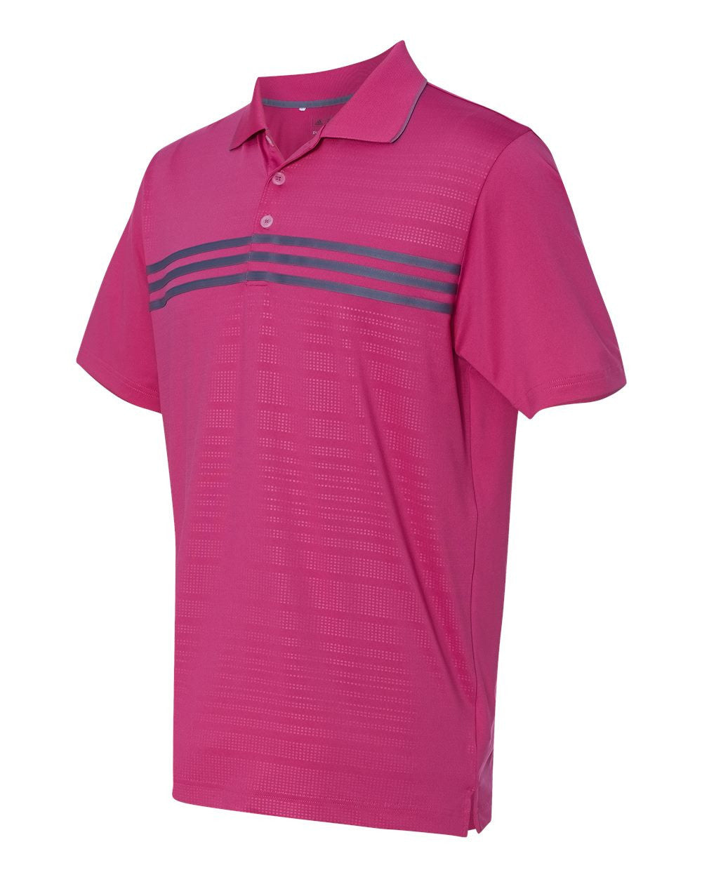 Golf Performance Chest Stripe Polos by Adidas - onestoppolos.com