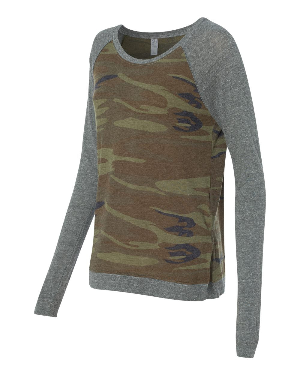 Organic Cotton  Raglan Lightweight Pullover for Women - Discountedrack.com