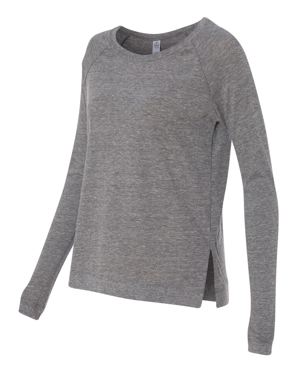 Organic Cotton  Raglan Lightweight Pullover for Women
