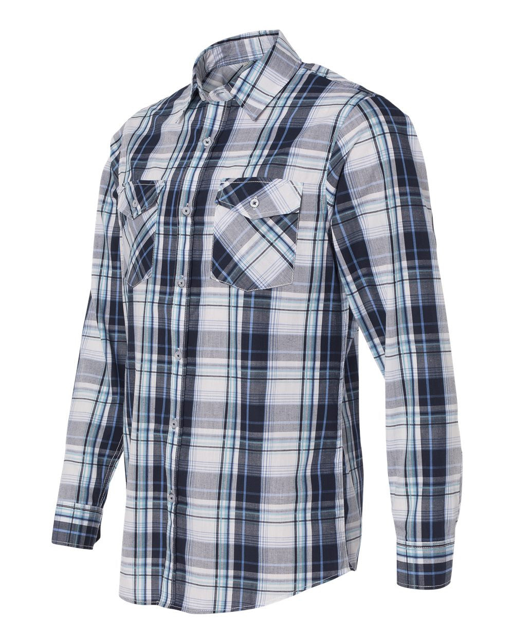 Long Sleeve plaid Shirt by Burnside
