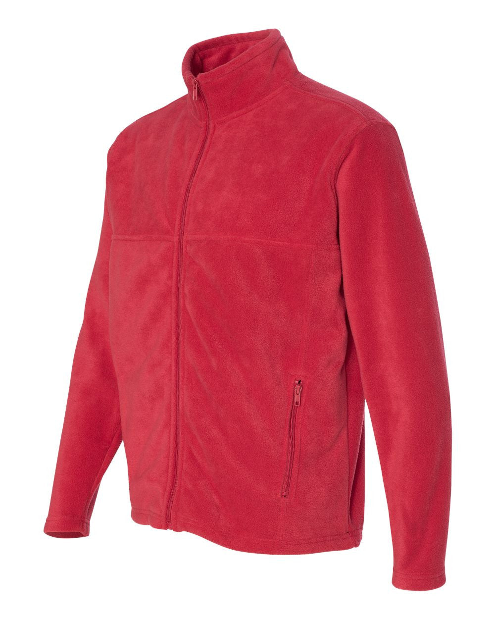 Full Zip Fleece Jacket for Sports