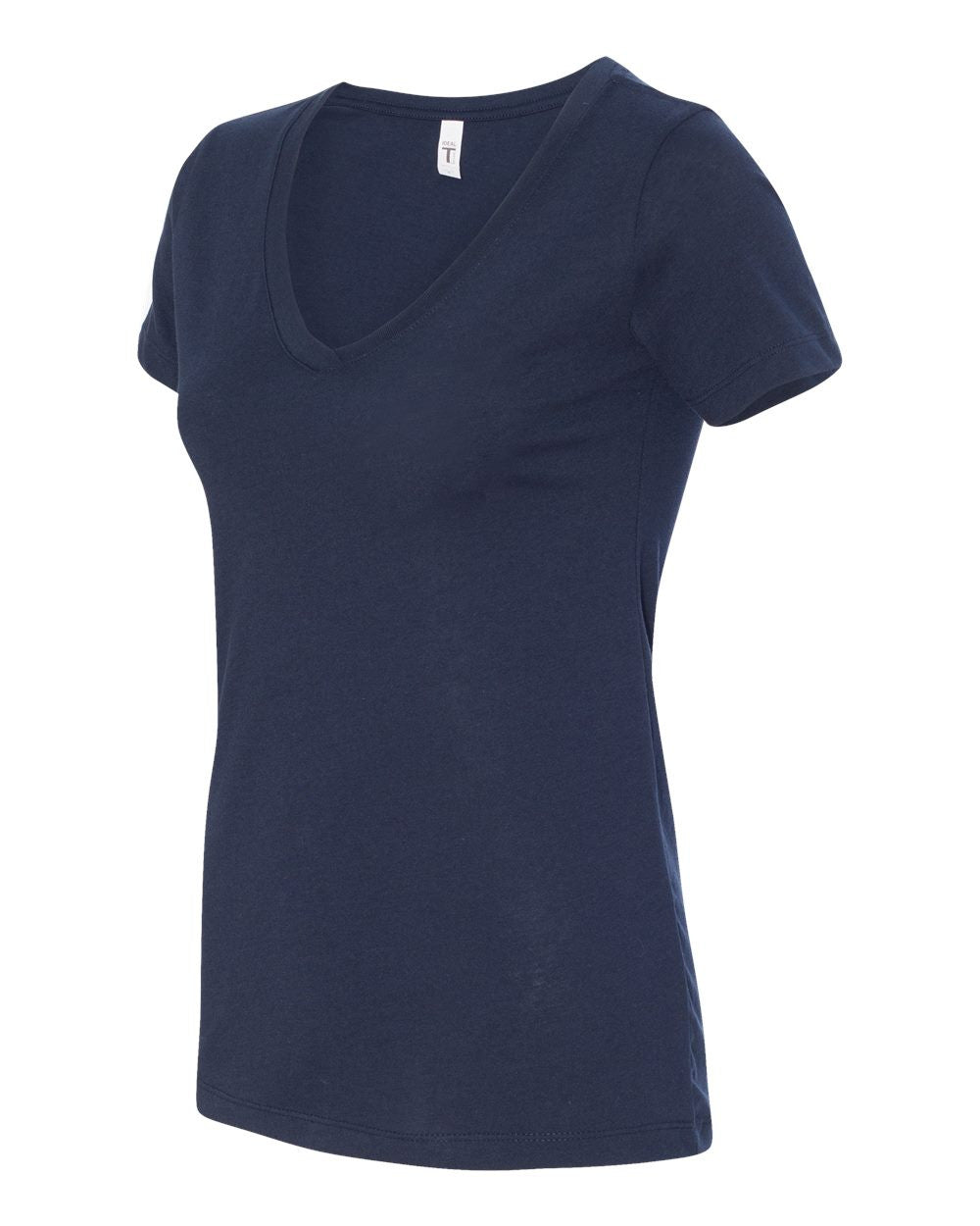 V Neck T-shirt for Women by Next LeveL