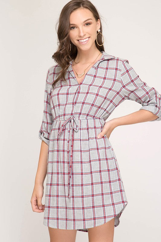 Plaid Dress/Tunic