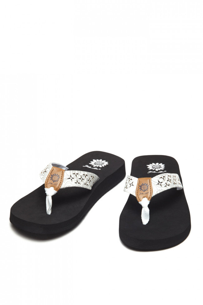 Yellowbox White Flip Flop