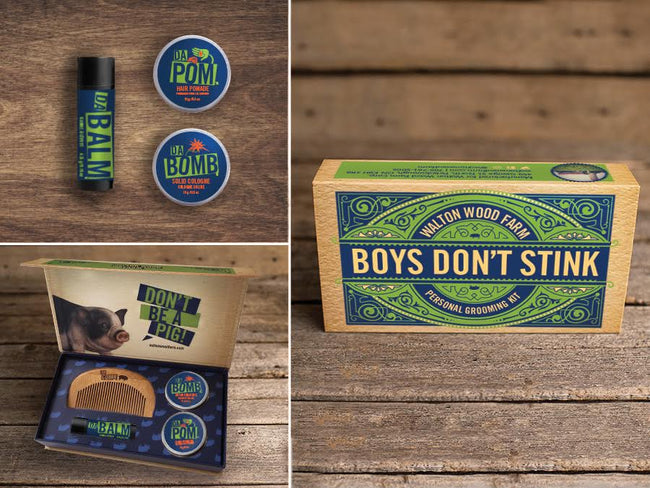 Boys Don't Stink Gift Box