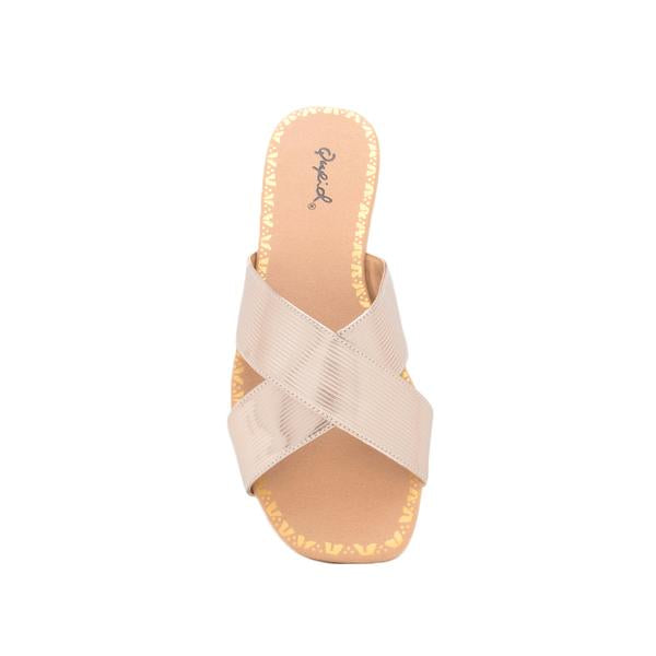Metallic Rose Gold Slide