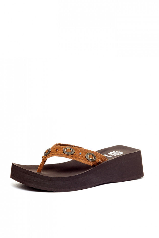Yellowbox Boho Leather Flip Flop