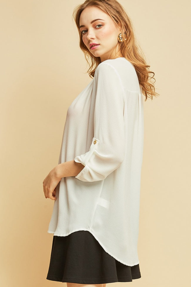 V-Neck Blouse