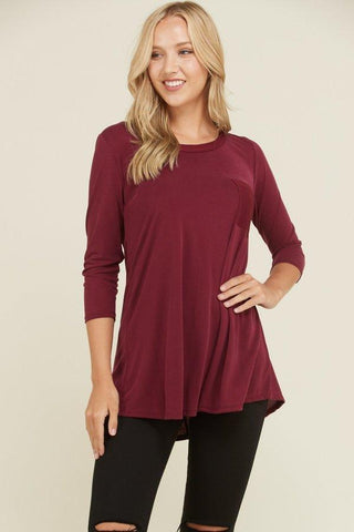 Sequins Pocket Tee