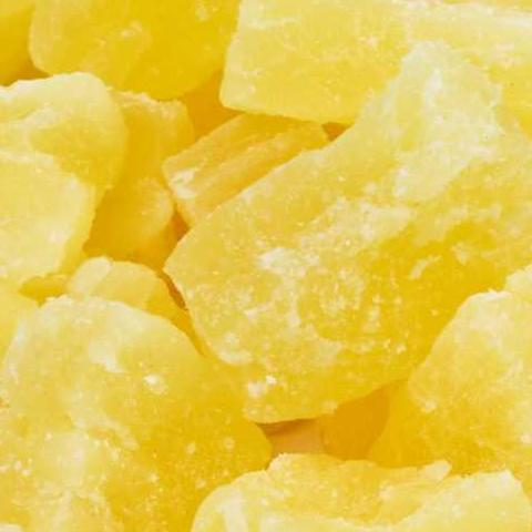 Pineapple Cubes, Dried, Crystallized