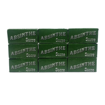 "Bar Sugar Cubes, Green ""Absinthe"" Label"