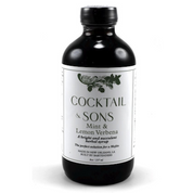 Cocktail & Sons Mint & Lemon Verbena Syrup