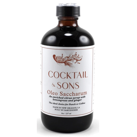 Cocktail & Sons Oleo Saccharum Syrup