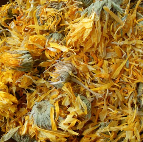 Calendula Flower, Whole, Organic