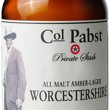 Col. Pabst All Malt Amber Worcestershire Sauce