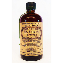 "El Guapo Tonic Syrup ""British Colonial Style"""