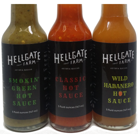 Hellgate Farm Local NYC Hot Sauce Assortment