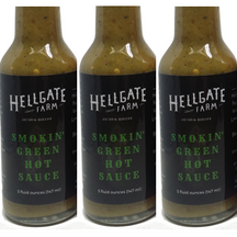 Hellgate Farm Local NYC Smokin' Green Hot Sauce