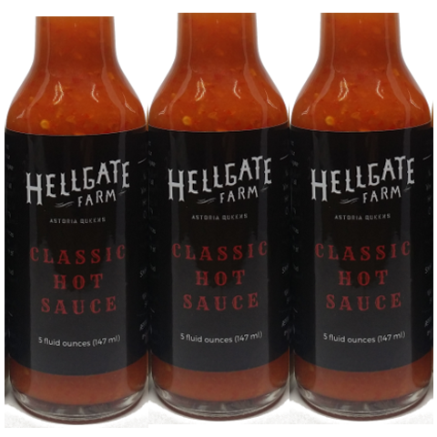 Hot Sauce, Hellgate Farm Local NYC, Classic Red