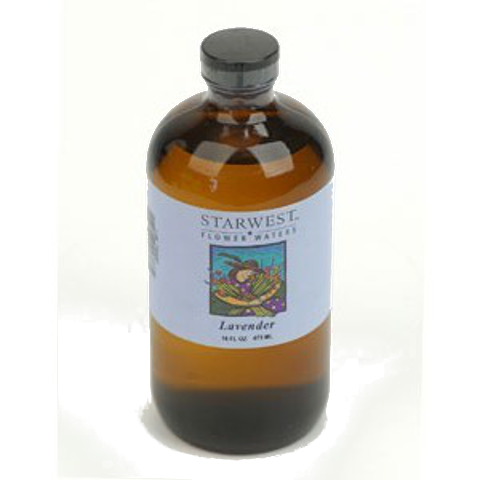 Flower Water, Lavender, Food Grade, 16oz