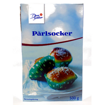 Swedish Pärlsocker Pearl Sugar