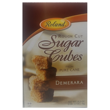 Sugar Cubes, Rough Cut Demerara 1kg