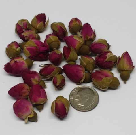 Purple Rose Boutons, Organic