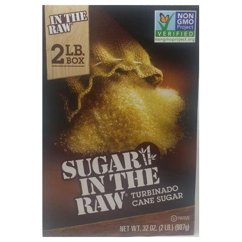 Sugar in the Raw, Bulk Turbinado Sugar 2lb
