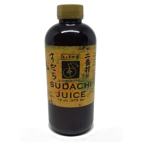 Yakami Orchard Sudachi Juice, SPECIAL PRICE! Niban Shibori, 375ml スダチ