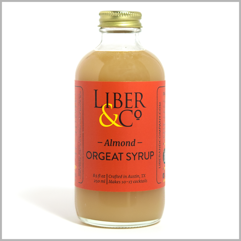 Liber Almond Orgeat Syrup 17oz
