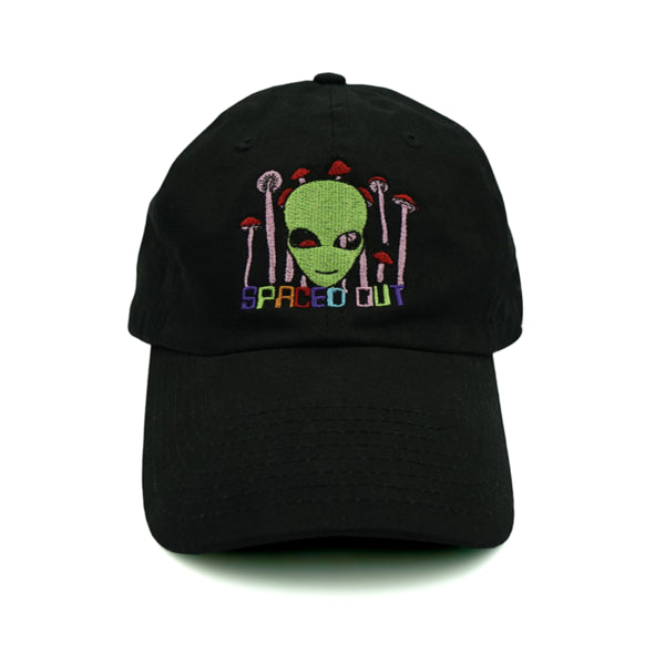 Spaced Out Dad Hat - Black