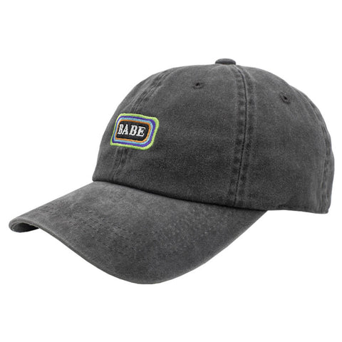 BABE Dad Hat - Washed Black