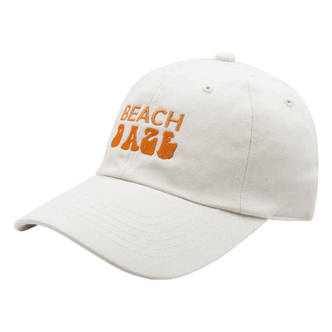 Beach Daze Dad Hat - Tan