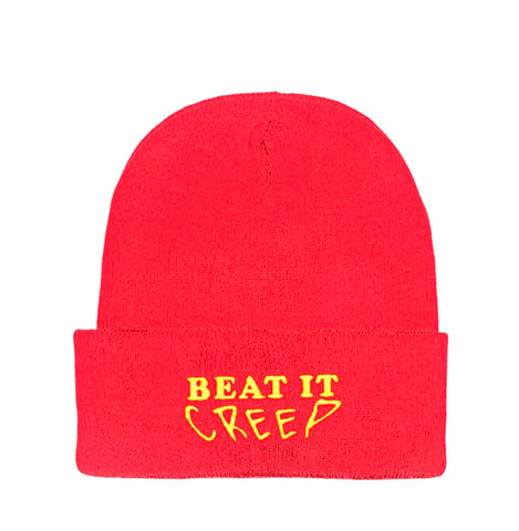 Beat It Creep Beanie - Red