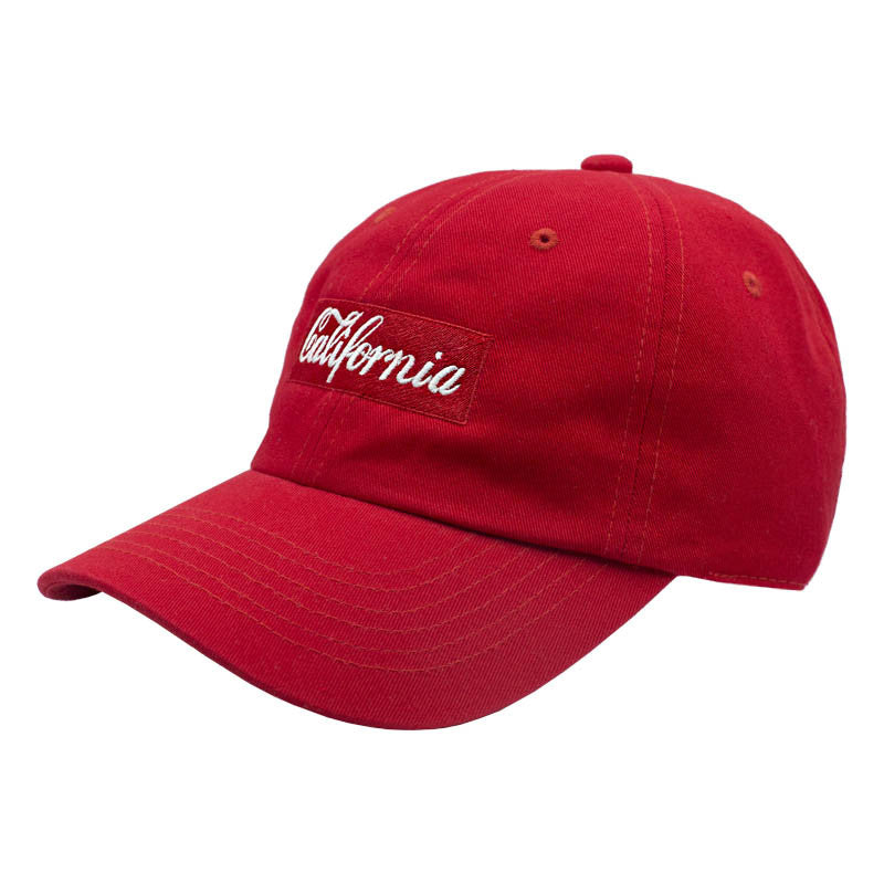 California Dad Hat - Red