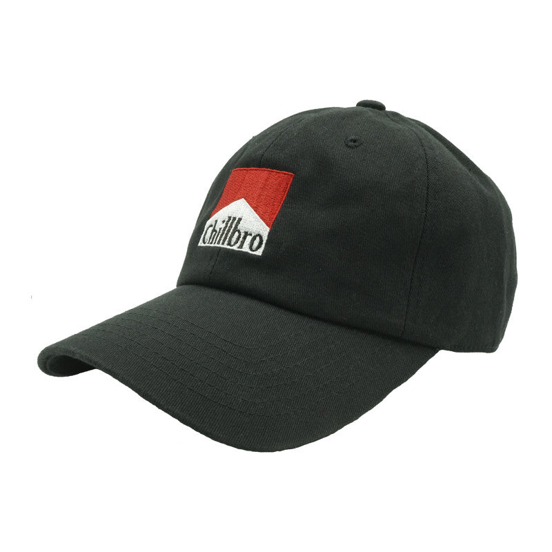 Chillbro Dad Hat - Black - Chill Hat