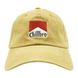Chillbro Dad Hat - Mustard Denim