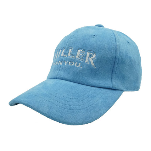 Chiller Than You. Dad Hat - Blue Suede - Chill Hat