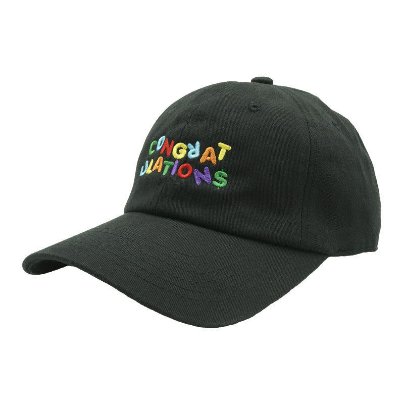 Congratulations Dad Hat - Black - Chill Hat