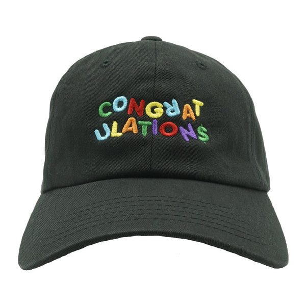 Congratulations Dad Hat - Black
