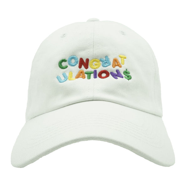 Congratulations Dad Hat - White
