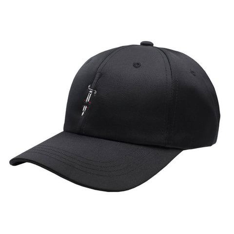 Issa Knife Dad Hat - Satin Black